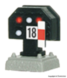 H0 | Viessmann 4018 - Licht rangeer/stopsein, laag