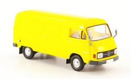 H0 | Brekina Starmada 13301 - Mercedes L 206D Kasten, geel, 1970,zonder omkarton