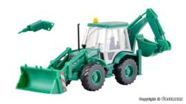 H0 | Kibri 15217 - Backhoe loader JCB 4CX 4x4x4 SchwarzBau