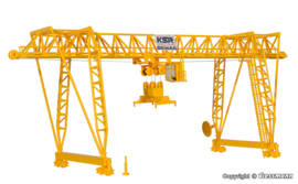 H0   Kibri 38530 - DEMAG container crane