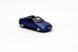 H0 | NEO 87411 - 1992-1998 Honda CRX , Blauw Metallic.