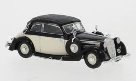 H0 | Ricko 38680 - Horch 930V Cabriolet, white/black, 1939, top closed