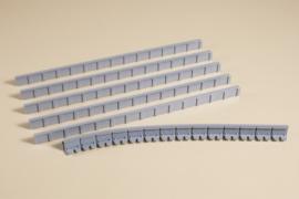 H0 | Auhagen 41200 - Patformranden 13 mm