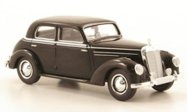 H0 | Brekina Starmada 13056 - Mercedes 220 (W187), zwart, Taxi,