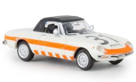 H0   Brekina 29609 - Alfa Romeo Spider, Politie 31, 1969, gesloten, TD (NL)