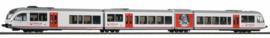 H0 | Piko 59532 - Veolia, Diesel train set GTW 2/8 Stadler (DC)