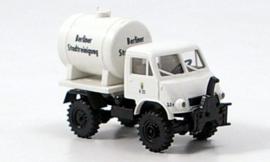 H0   Brekina 39056 - Mercedes Unimog U 402, BSR, withTank