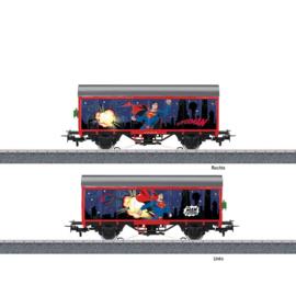 H0   Märklin Start up 44825 - gesloten goederenwagen Superman