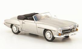 H0 | Ricko 38393 - Mercedes 190 SL (W121 BII), silver