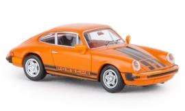 H0 | Brekina 16317 - Porsche 911 G, orange, 1976, TD.