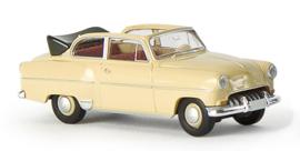 H0 | Brekina 20221 - Opel Olympia Cabrio, beige.