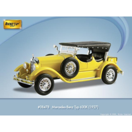 H0 | Ricko 38478 - Mercedes Benz 630K, yellow, 1927