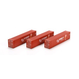 H0 | Athearn ATH27777 - Container 3 Pack 45' – Horizon Lines