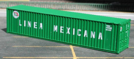 N | De Luxe 5260 - set 40' containers Linea Mexicana / corrugated