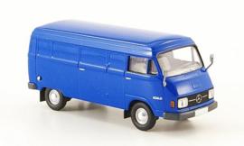 H0 | Brekina Starmada 13300 - Mercedes L 206D van, blue, 1970, without cardboard slipcase