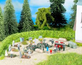 H0   NOCH 14874 - Begrafenis kisten