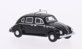H0 | BoS-Models 87050 - Rometsch kever (VW), zwart, Taxi, 1953, 4-deurs