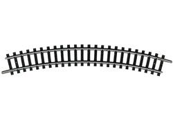 N | Minitrix 14922 - Gebogen rail R2, 30°