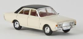 H0   Brekina 19420  - Ford 20M , white/black