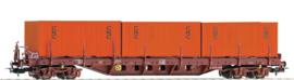 "H0 | Piko 54826 - SNCF, Containerdraagwagen ""CNC"""