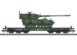 H0 | Märklin 48873 - DB AG, Wagen voor zwaar transport Samms 709