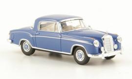 H0 | Brekina Starmada 13503 - Mercedes 220 S Coupe (W180 II), blauw zonder omkarton