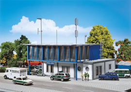 H0 | Faller 130481 - Modern politiebureau