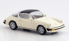 H0 | Brekina 16350 - Porsche 911 G-Modell, Targa, removable roof, white