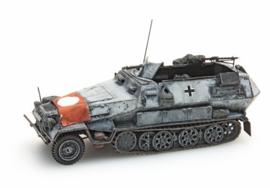 H0 | Artitec 387.73-S2 - Sd.Kfz 251/1B met vlag, winter