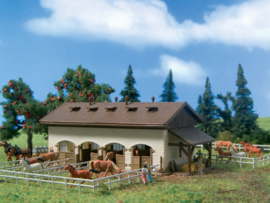 N | Vollmer 47719 - Horse stable with horses