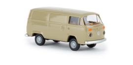 H0 | Brekina 33544 - VW T2 Transporter, yellow gray