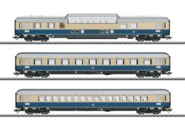 "H0 | Märklin 43881 - DB, Set sneltreinrijtuigen 1 ""Rheinpfeil 1963"""