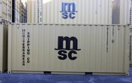 H0 | PT Trains 820015 - Container 20' DV MSC Eco