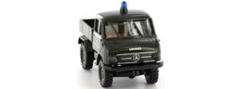 H0 | Brekina 39024 - Unimog 411 Pritsche Polizei