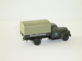 H0 | Brekina 0013 - Hanomag L28 Sandlerbrau
