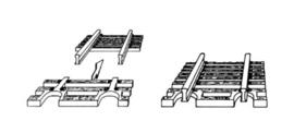 N | Fleischmann 22215 - Flex rails eindstuk