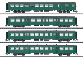 H0 | Märklin 43546 - NMBS, Personenwagen-Set M2
