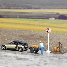"H0 | Busch 7683 - Diorama ""geen drinkwater"""
