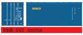 H0 | PT Trains 820506 - Container 20´ OPEN TOP Seaco