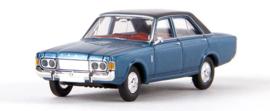 H0   Brekina 19441 - Ford 26m (P7b), blue metallic (TD-model)