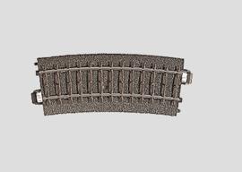 H0 | Märklin 24115 - Gebogen railstuk R360 mm - 15Gr  (C-rail)