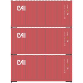 H0 | Athearn ATH28856 - 20' Corrugated Container, CAI (3)