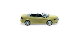 H0   Wiking 013203 - Audi A4 Cabrio open, cosmic geel met. (1)