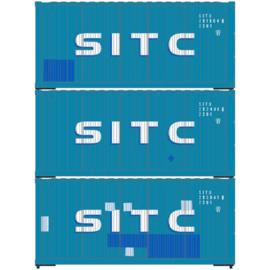 H0 | Athearn ATH28858 - 20' Corrugated Container, SITC (3)