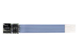 Minitrix 66836 - Locdecoder 1000 mA voor NEM (S) stekkerverbinding (Selectrix)