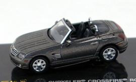 H0 | Ricko 38376 - Chrysler Crossfire Roadster, metallic-dark gray.