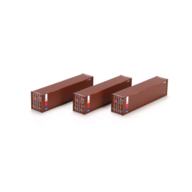 H0   Athearn ATH29166 - Container 3 Pack 40' – TransAmerica