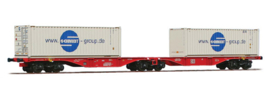 H0 | ACME 40354 -DB AG, Containerwagen Sggrss 80