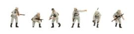 H0 | Artitec 387.81 - Set 1 Deutsche Infanterie, winter, 6 figuren