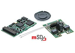 H0 | Märklin 60979 - SoundDecoder mSD3 (hobby-loc, E loc sound)